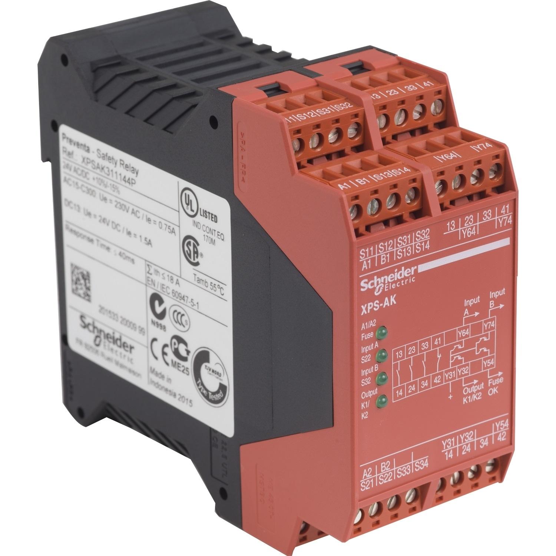 Xpsak311144p Safety Relay Schneider Electric Es Online Service